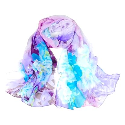 Dámský květinový šátek - 5 variant