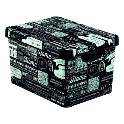 Curver Deco's box s víkem Stockholm L Home