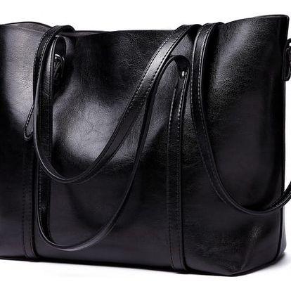 Dámská černá kabelka Lilian 6709