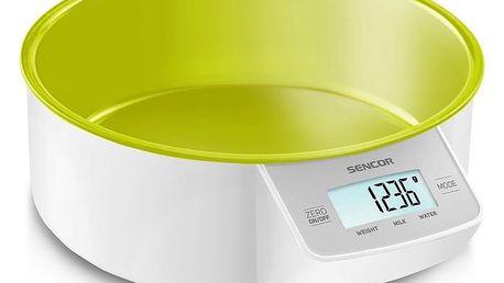 Kuchyňská váha SKS 4004GR, zelená, Sencor