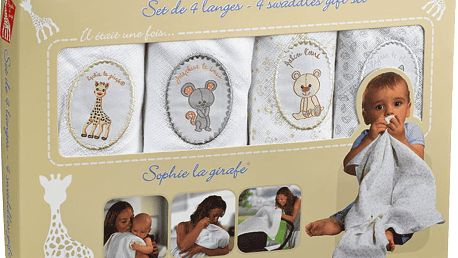 VULLI Set 4 plenek žirafa Sophie