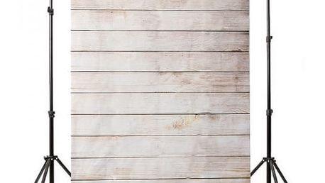 Ateliérové fotopozadí 210 x 150 cm - Světle hnědá prkna