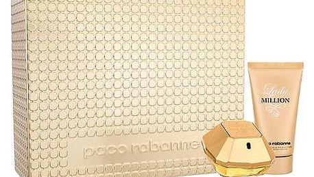 Paco Rabanne Lady Million EDP dárková sada W - EDP 50 ml + tělové mléko 75 ml