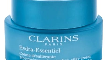 Clarins Hydra-Essentiel 50 ml denní pleťový krém pro ženy