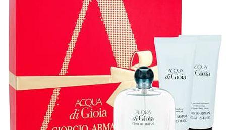 Giorgio Armani Acqua di Gioia EDP dárková sada W - EDP 50 ml + tělové mléko 75 ml + sprchový gel 75 ml