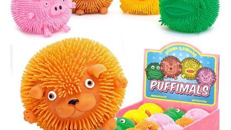 Gumový míček zvířátko Puffy