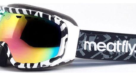 Unisex brýle Meatfly - zebra, pink chrome