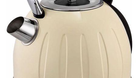 Kalorik JK 2500 Rychlovarná konvice Retro, krémová, 1,7 l