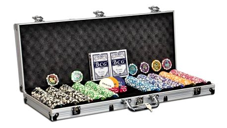 Garthen 501 POKER SET 500 ks žetonů OCEAN CHAMPION 11g