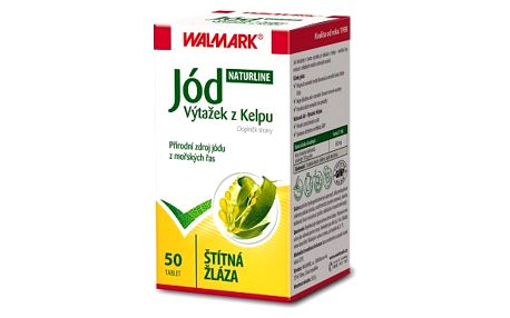 WALMARK Kelp Jód 0,30 mg 50 tablet