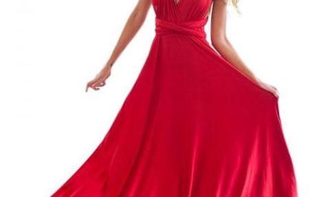 Dlouhé multi-stylové šaty - 14 barev
