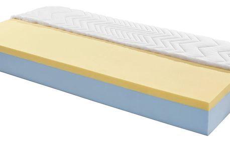 Matrace z komfortní pěny visco royal h3, 90/200 cm
