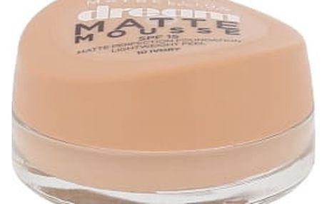 Maybelline Dream Matte Mousse SPF15 18 ml makeup pro ženy 10 Ivory