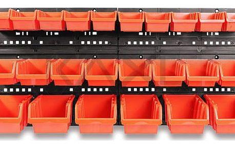 Pořadač na nářadí 24 boxů