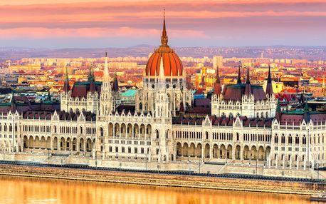 Zájezd do Budapešti: 1x nocleh, snídaně, průvodce