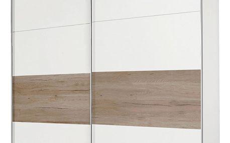 Skříň s posuvnými dveřmi bert, 225/210/65 cm