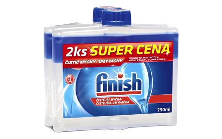 Finish Čistič myčky 250 ml DUO