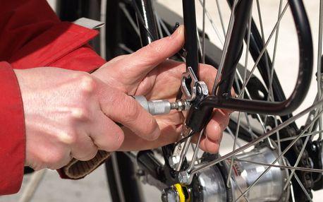 100% kontrola i servis bicyklu pro novou sezónu