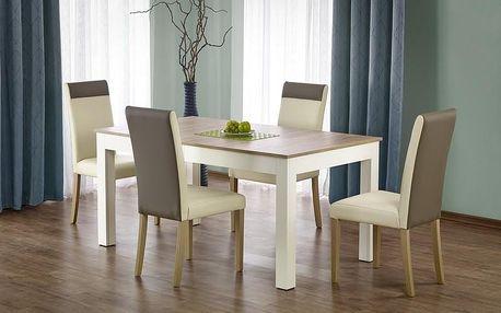 Dřevěný jídelní stůl Seweryn bílá