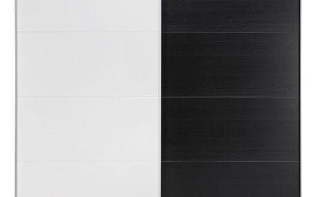 Skříň s posuvnými dveřmi chester, 225/206,4/65 cm