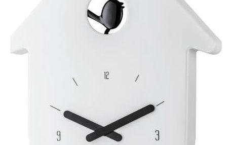 Koziol Nástěnné hodiny TOCTOC barva bílá