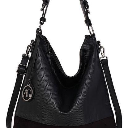 Dámská černá kabelka Charlie 557