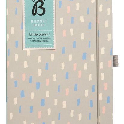 Kniha na zapisování financí Busy B Budget Book