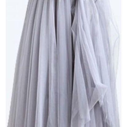 Dlouhá tylová maxi sukně - 3 barvy