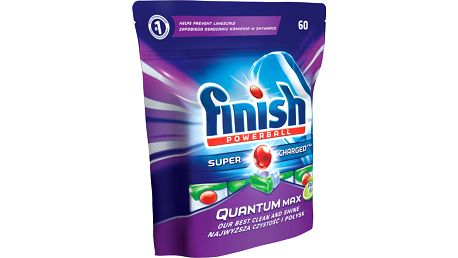 FINISH Quantum Max Apple&Lime 60 ks - tablety do myčky