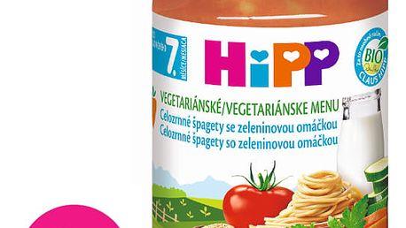 6x HIPP BIO Celozrnné špagety se zeleninovou omáčkou 220g