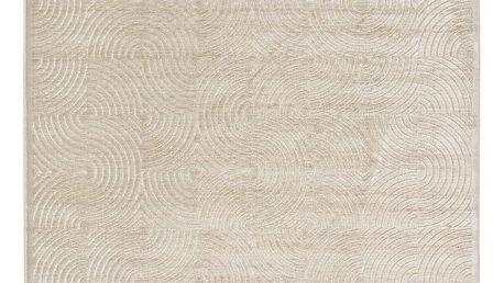 Světle béžový koberec Universal Kunna, 160x230cm