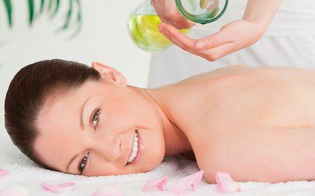 60minutová aroma olejová masáž celého těla