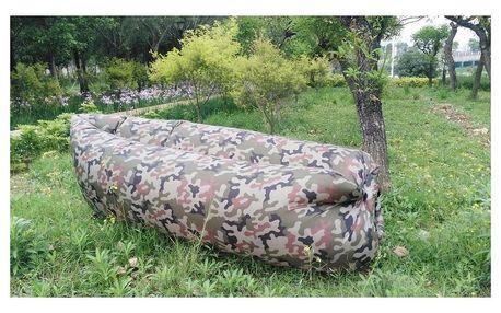 Samonafukovací pytel Lazy Bag, maskáčová VCAS Lazy bag