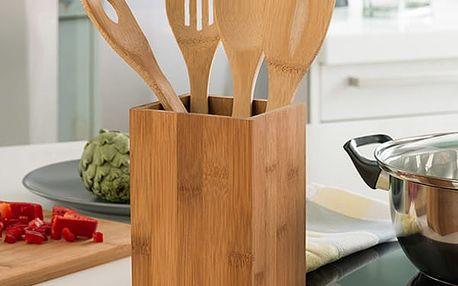 Bambusové Kuchyňské Náčiní 5 dílů