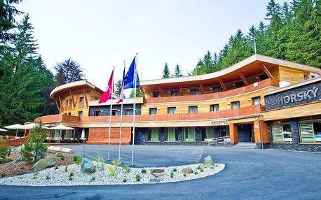 Jaro v horském hotelu v Beskydech s wellness