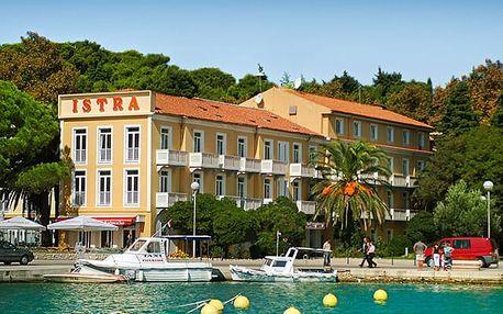 Hotel Istra***, Pohodová dovolená u moře v půvabném historickém městě Rab