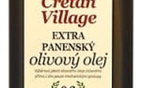 Olivový Olej Cretan Village 750ml Sklo