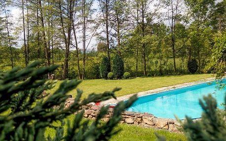 Český les na týden s polopenzí a bazénem