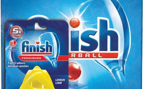 FINISH Classic Regular 100ks + DEO Lemon - tablety do myčky