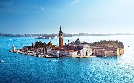 3denní zájezd pro 1 do Benátek s návštěvou ostrovů Murano a Burano