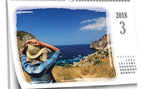 Stolní či nástěnné kalendáře z vašich vlastních fotografií, možnost osobního odběru v Ústí nad Labem