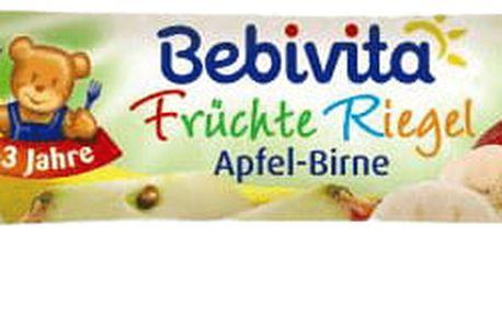 10x BEBIVITA Ovocná tyčinka jablko a hruška (25 g)