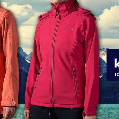 Dámské softshellové bundy značky Kjelvik