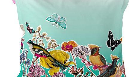 Povlak na polštář z čisté bavlny Happy Friday Birds Of Paradise,60x60cm