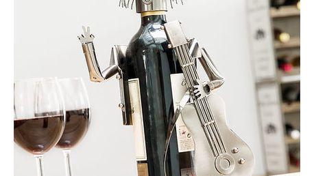 Stojan na víno Kytarista Homania