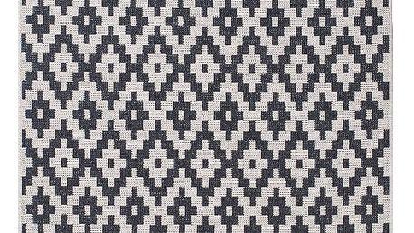 Černý koberec Think Rugs Cottage 160x220cm