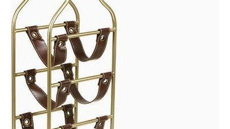 Stojan na láhve 4 lahví - Art + Metal Kolekce by Bravissima Kitchen