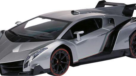 BUDDY TOYS BRC 14.031 1:14 RC Lamborghini Veneno stříbrné