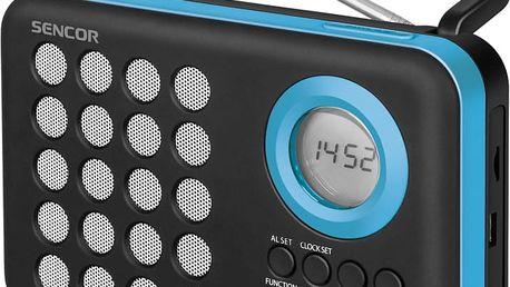 Radiobudík Sencor SRD 220 BBU