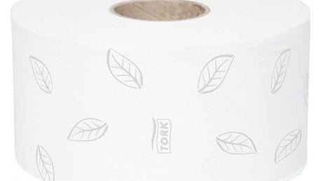 Tork Advanced T2 Toaletní papír v Mini Jumbo roli, 2 vrstvy, 12ks